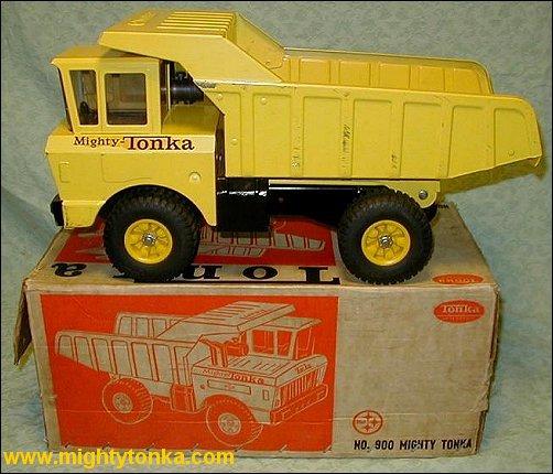 1964 Mighty Tonka | Mighty Tonka | Boxes | Custom