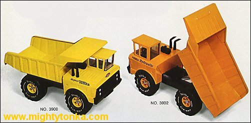 1973 Mighty Dump, Hydraulic Dump