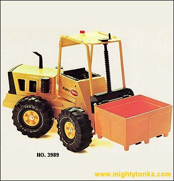 1977 Mighty Forklift with Container
