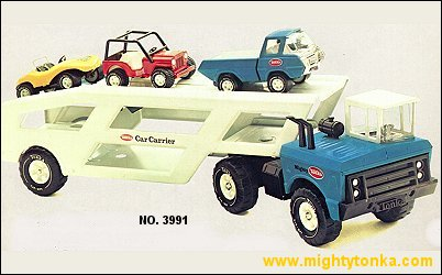 1977 Mighty Car Carrier