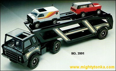 1980 Mighty Car Carrier