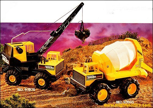 1996 Mighty Crane and Mighty Mixer