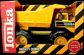 1992 Mighty Dump Packaging